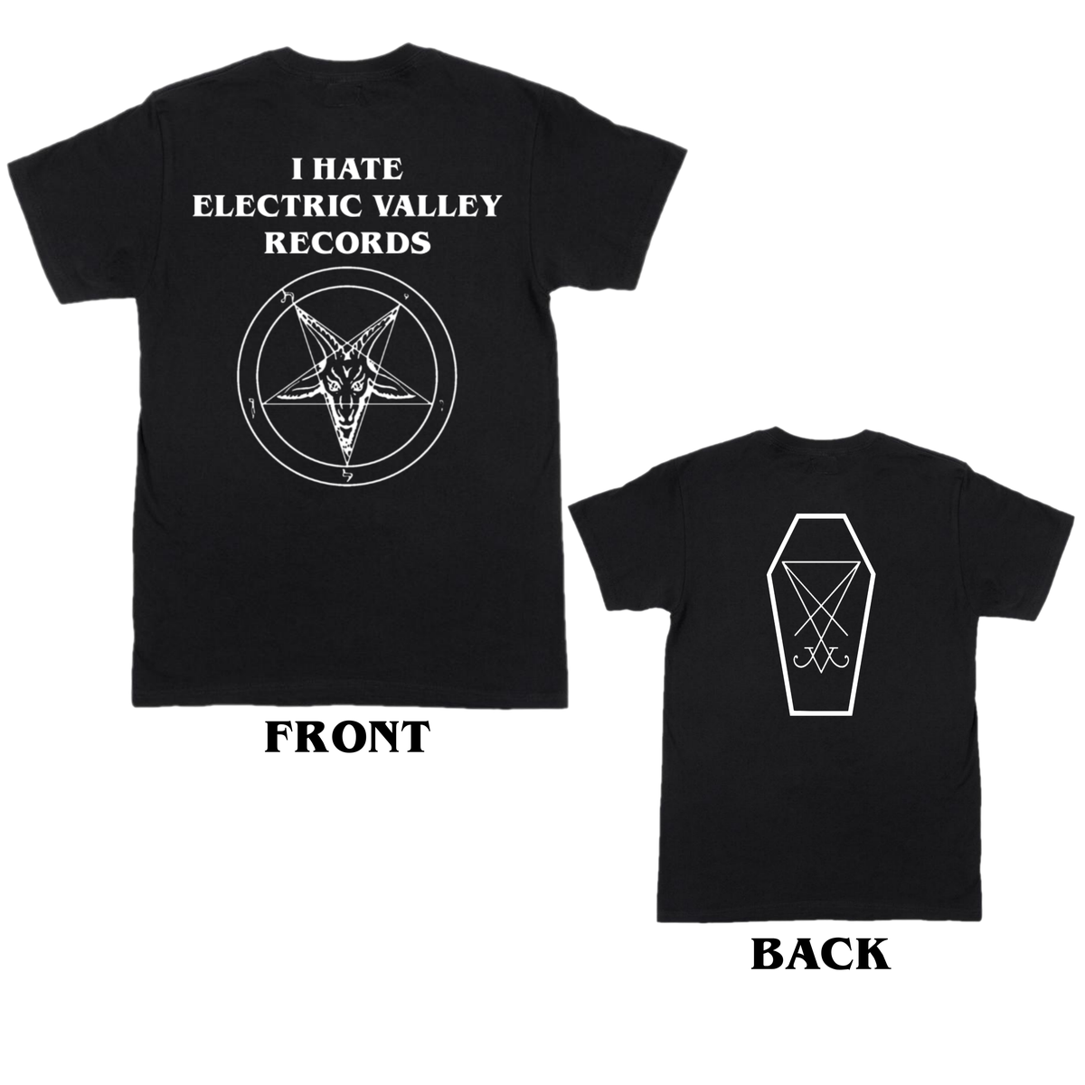 Image of I Hate Electric Valley Records T-shirt