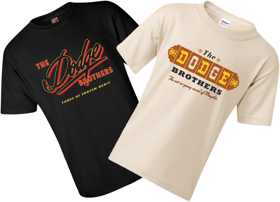 """Image of The Dodge Brothers """"old logo"""" T-shirts"""