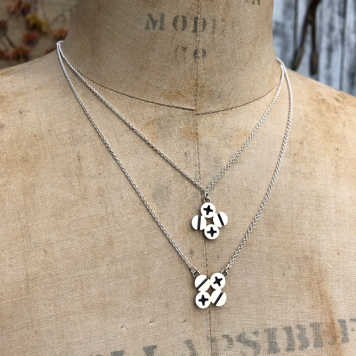 Image of Screws necklace