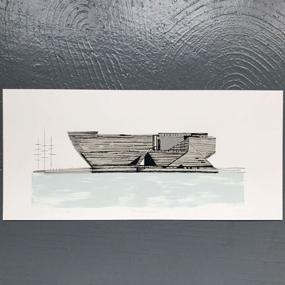 Image of V&A Dundee screen print