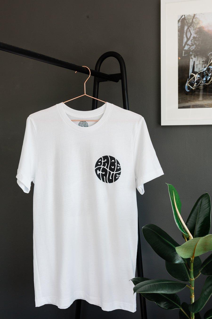 Image of Babe Cave Logo Tee - White
