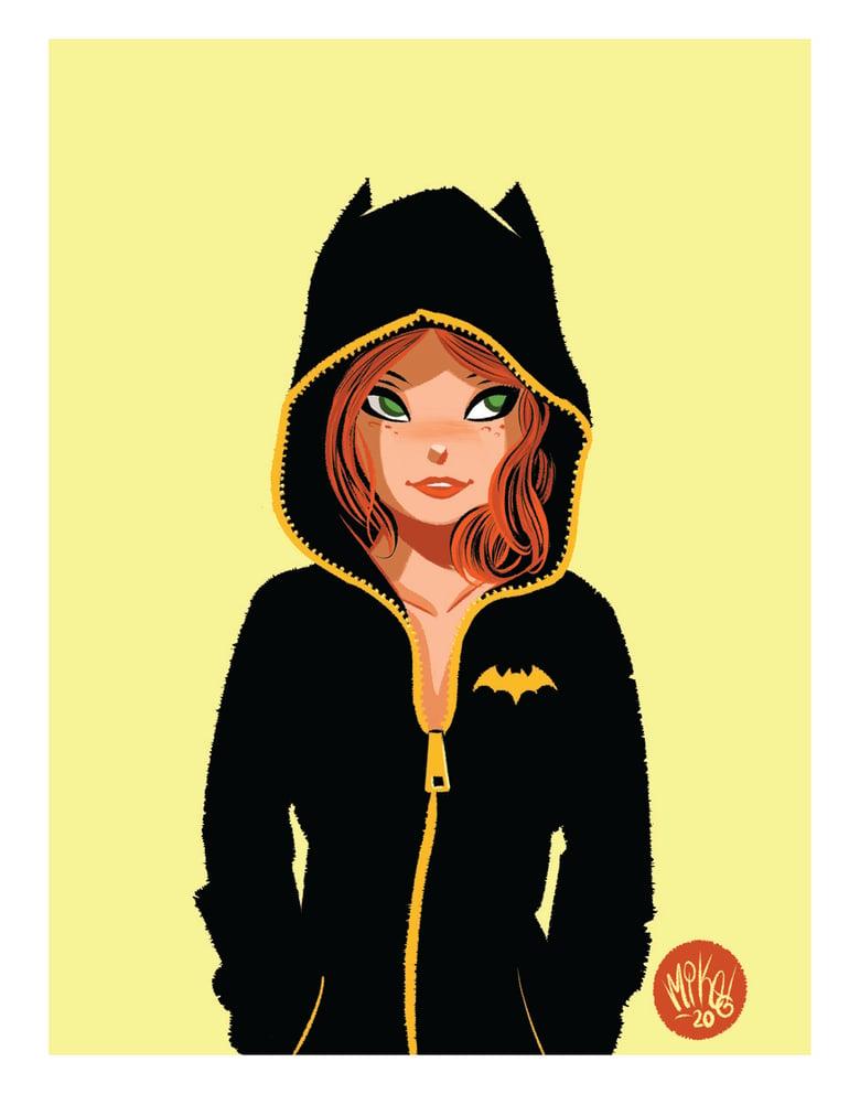 Image of Batgirl Hoodie