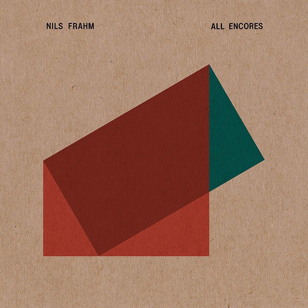 Image of Nils Frahm - All Encores