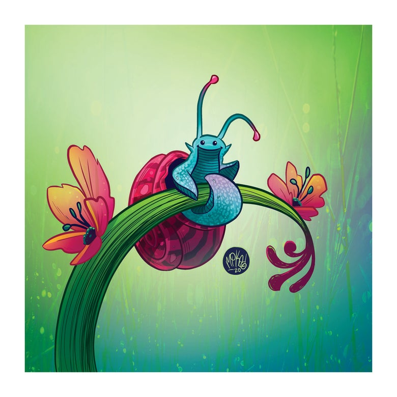 Image of Snail Greeting