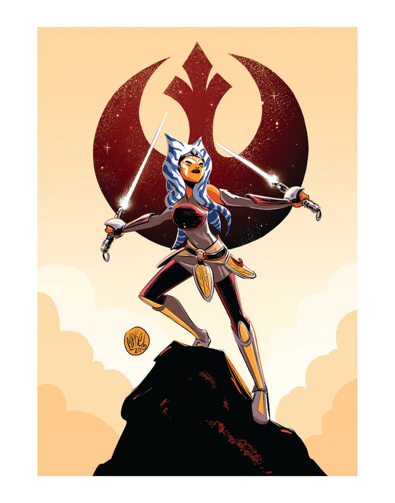 Image of Ahsoka Lives!