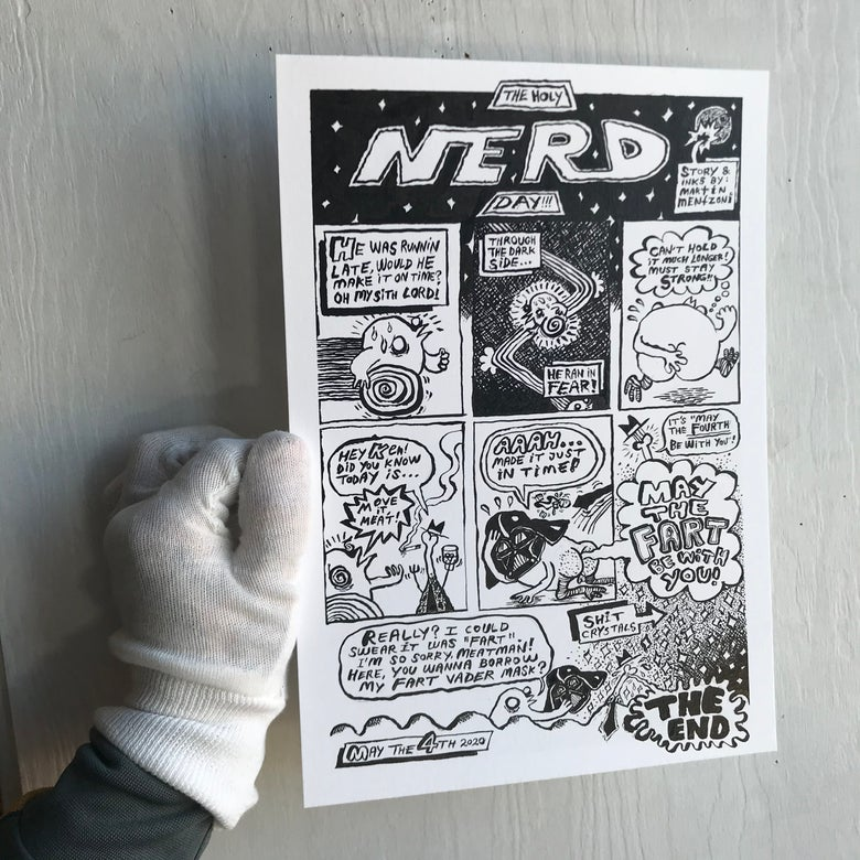 Image of The Holy NERD Day (PRINT)