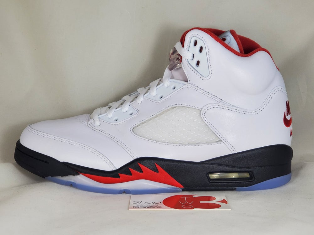 Image of Air Jordan 5 Retro Fire Red