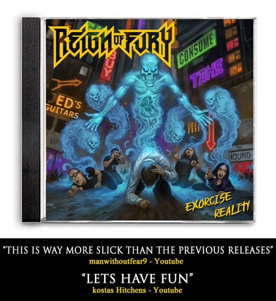 """Image of """"Exorcise Reality"""" Limited Edition CD"""