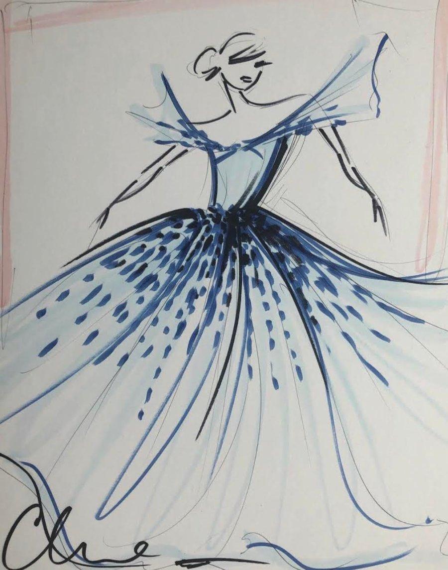 """Image of """"Mask Series Look 5"""" - Sketch Print"""