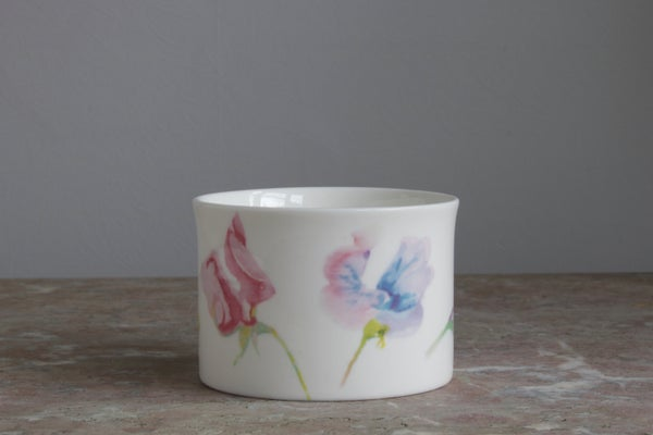 Image of Sweet Pea Sugar Bowl
