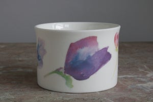 Image of Sweet Pea Sugar Bowl