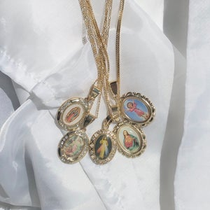 Image of Guadalupe III Necklace