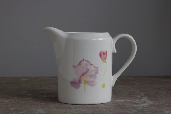 Image of Sweet Pea Fine English Bone China Milk Jug
