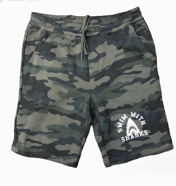 Image of Camo Fleece Short