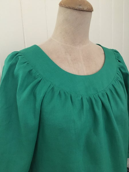 Image of The Green Smock Top