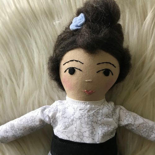 Image of Pre-order: Lucy Maud Montgomery- heirloom author doll