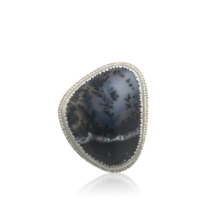 Image of emerge dendritic opal ring