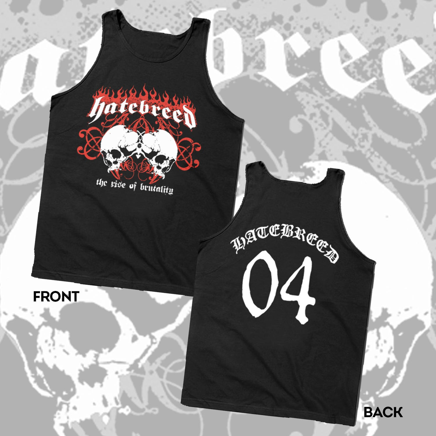 "Image of HATEBREED ""RISE OF BRUTALITY 04"" TANK TOP - SIZE MEDIUM ONLY"