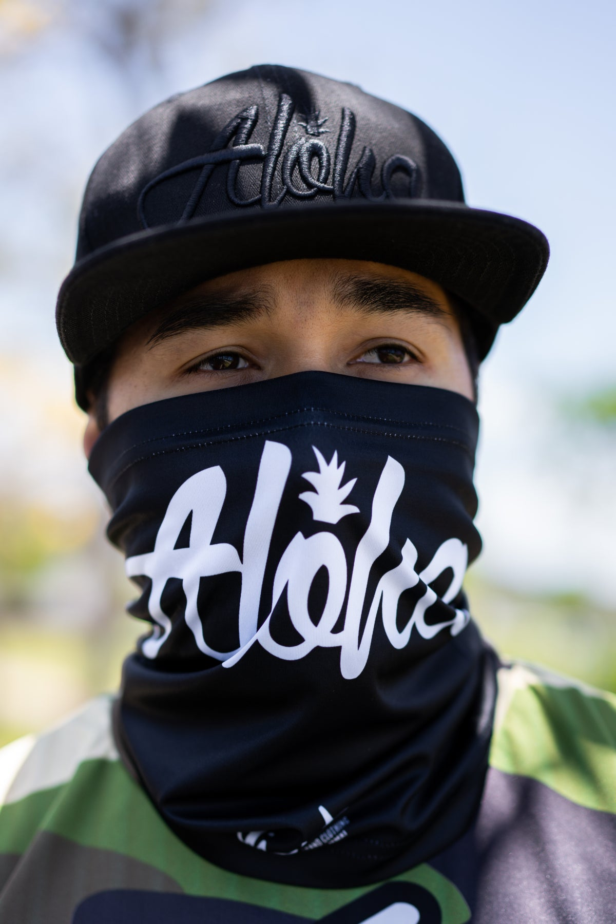 Aloha Pine Face Shield