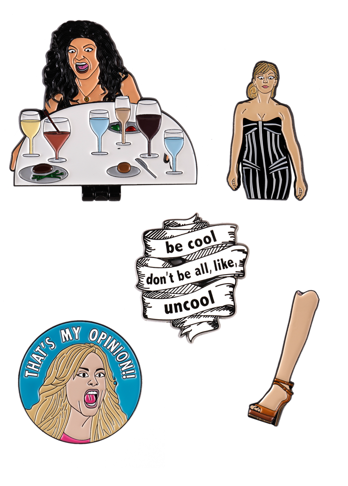 Image of HOUSEWIVES PIN PACK