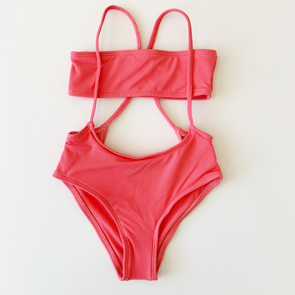 Image of Malibu Swimsuit Coral