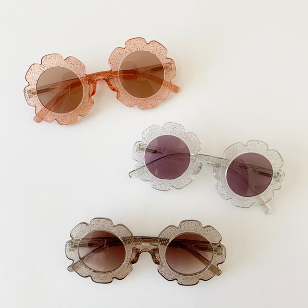 Image of Glitter Flower Sunnies - Summer 2020