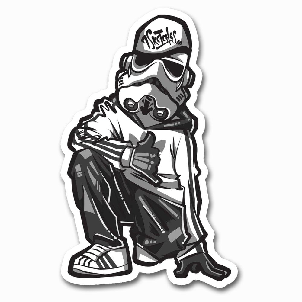 Image of Stormtrooper Sticker