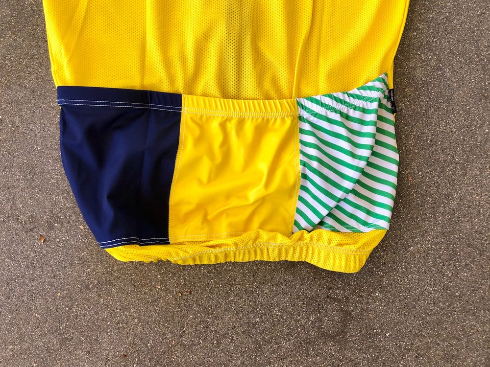Green Stripe Yellow Body FS TDBT