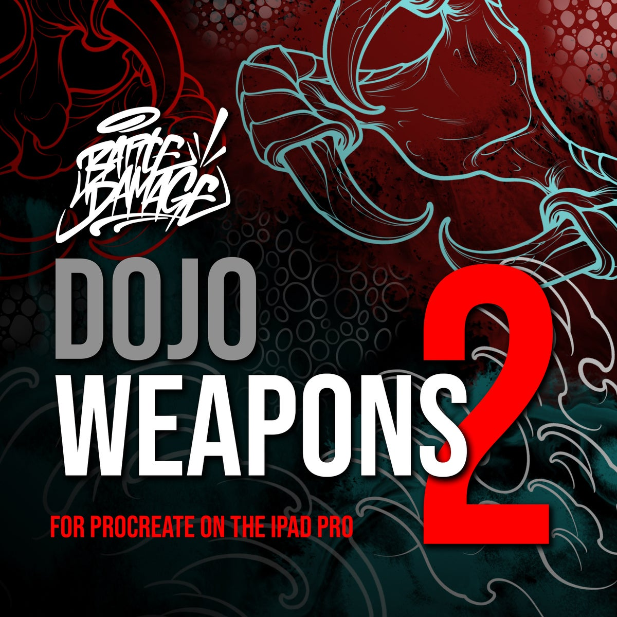 Image of Dojo Weapons 2 for Procreate