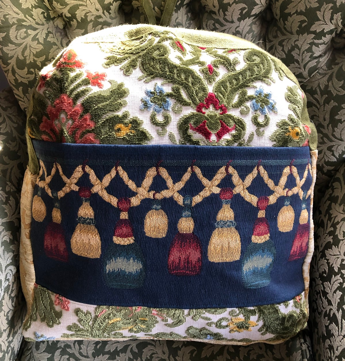 Image of French Textile Backpack