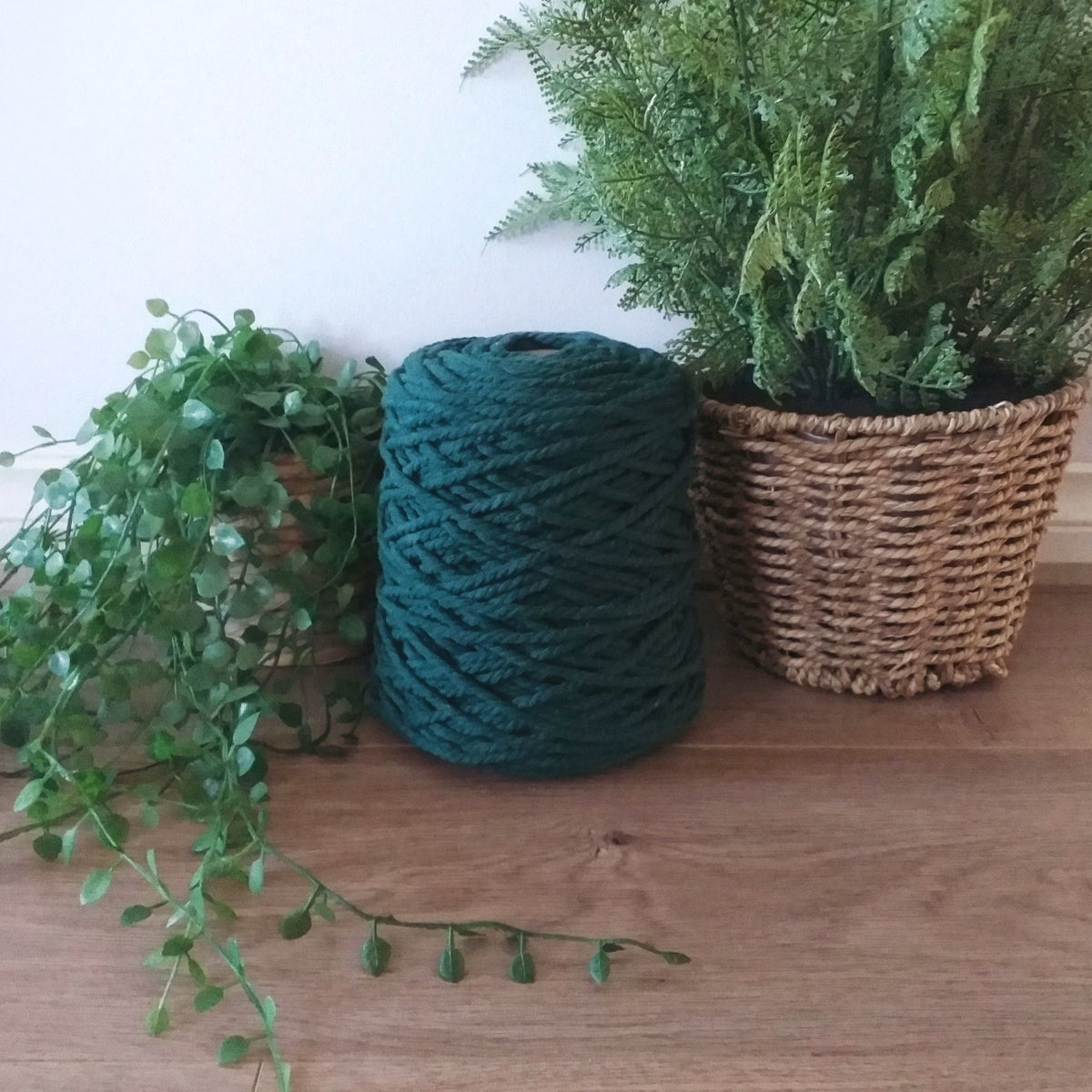 Image of 1kg Forest 3ply Rope