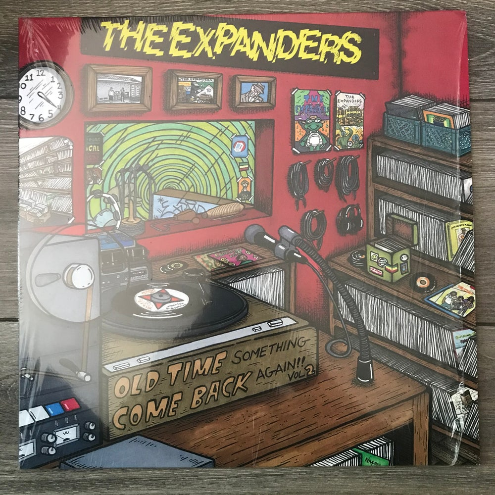 Image of The Expanders - Old Time Something Comeback Again Vol. 2 Vinyl LP