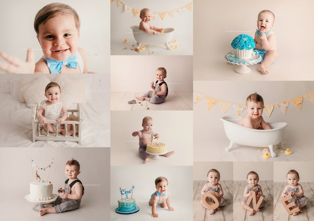 Image of FIRST BIRTHDAY SESSION - DEPOSIT ONLY