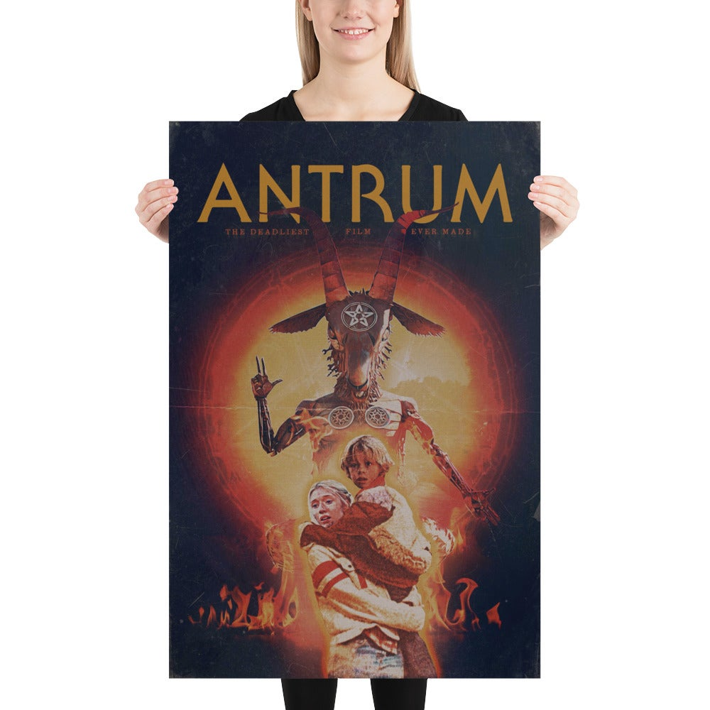 OFFICIAL RELEASE ANTRUM POSTER