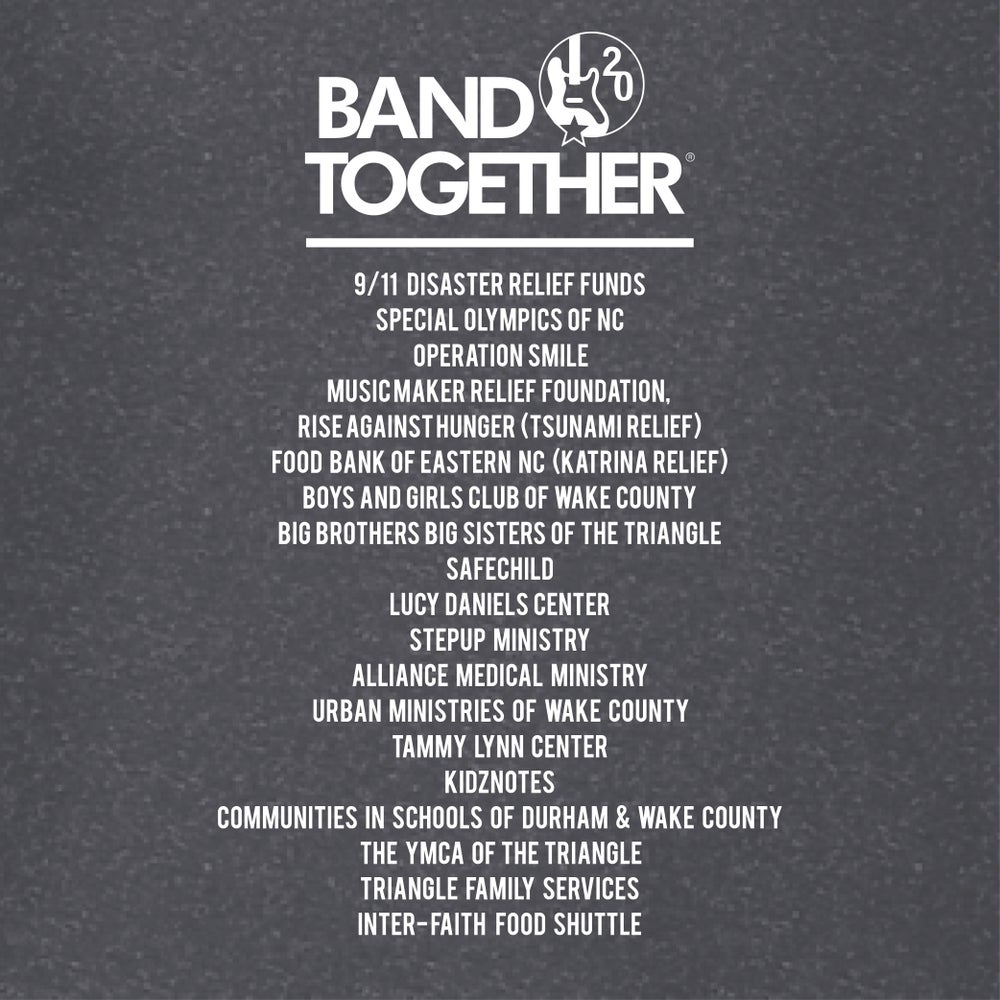 Band Together Tee Commemorative 20 Year