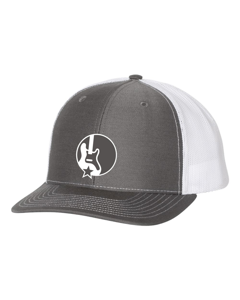 Band Together Trucker Hat Charcoal / White