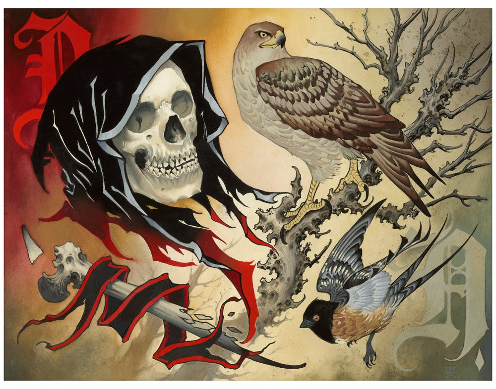 Reaper and hawk