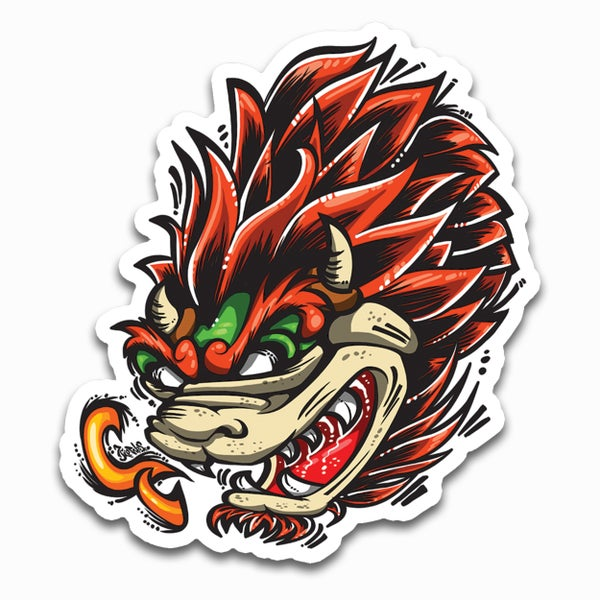 Image of Bowser Sticker