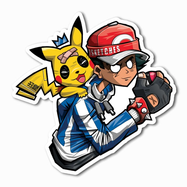 Image of Catch Me Outside Sticker