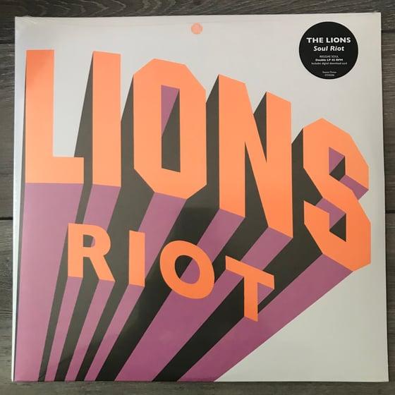 Image of The Lions - Soul Riot Vinyl 2 LP