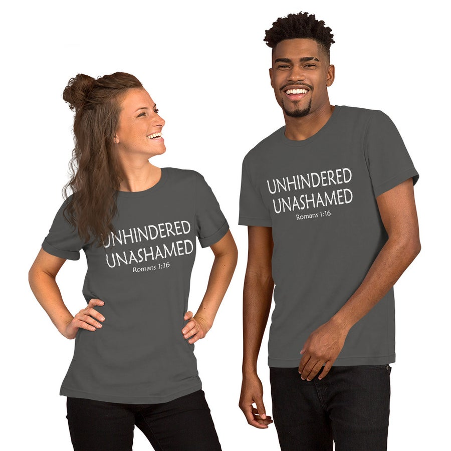 Image of Unhindered Unashamed- Unisex T-Shirt