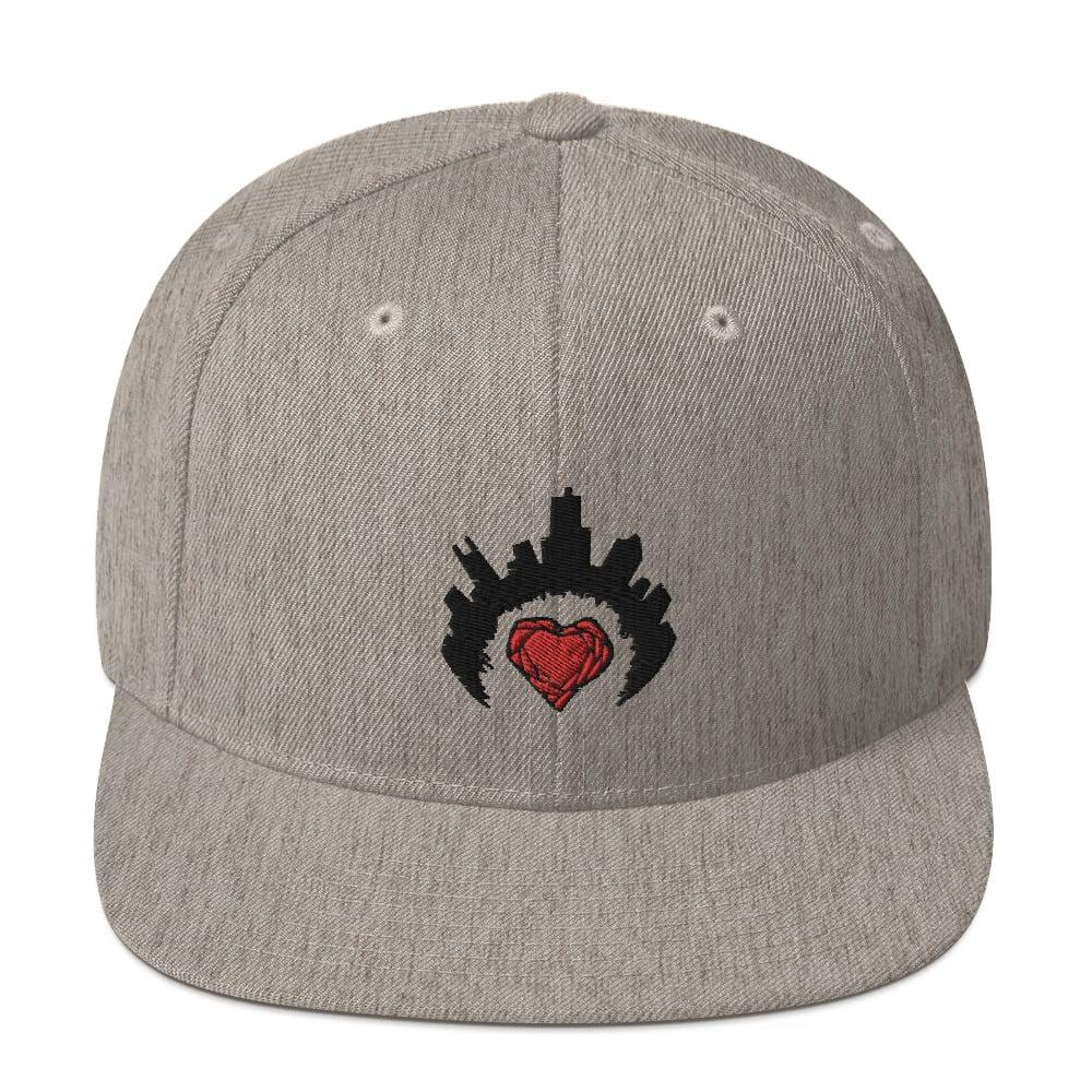 Image of Jason Ferg Music Logo Snapback Hat
