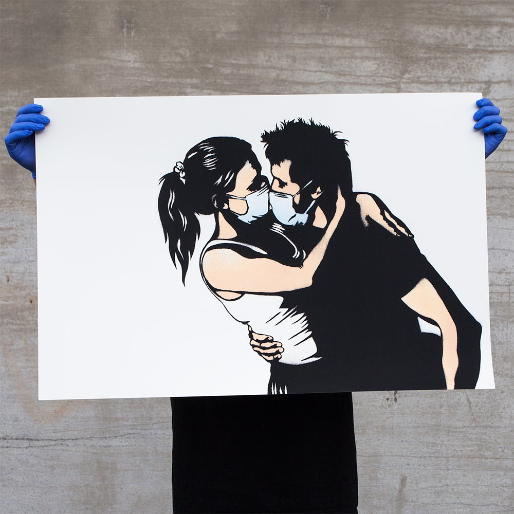 Image of The Lovers - 60x90 screen print