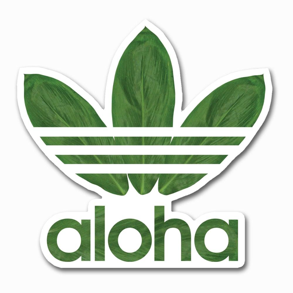 Image of Aloha Ti Leaves Sticker