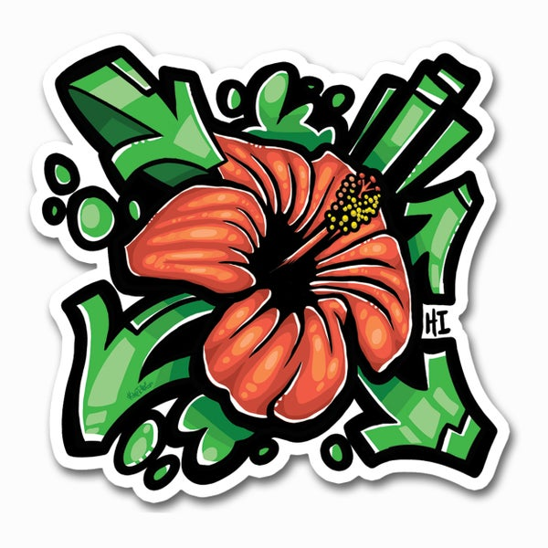 Image of Hibiscuss Sticker