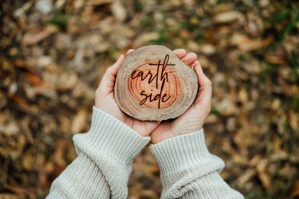 Image of TREE BRANCH BIRTH ANNOUNCEMENT   'Earth Side' or 'I'm Here'