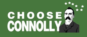 Image of Choose Connolly Enamel Badge