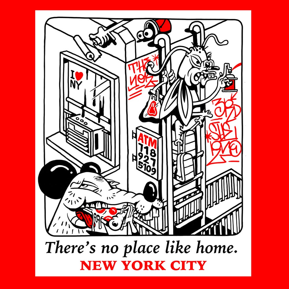 Image of There's no place like home. NYC. Tee Shirt