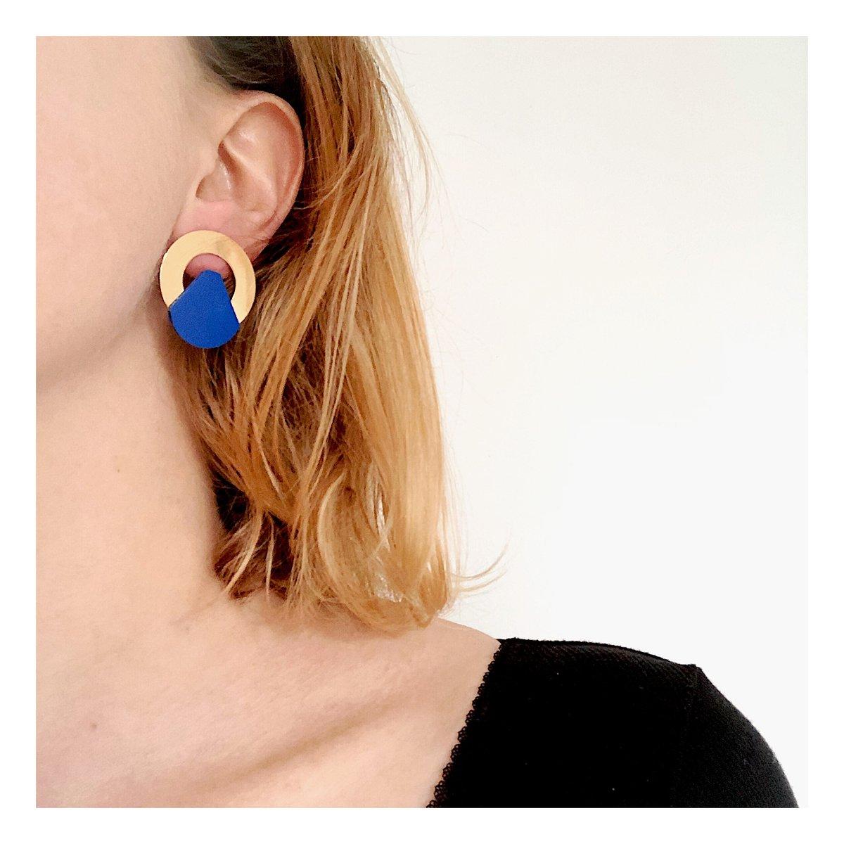 Boucles d'oreilles Aïko #1