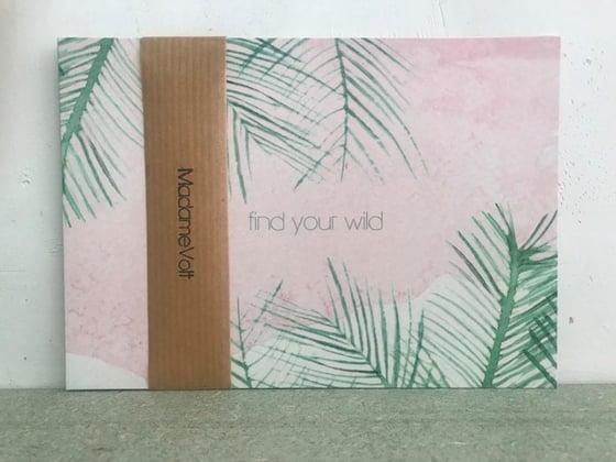 Image of postkaartpakket met 4 verschillende prints